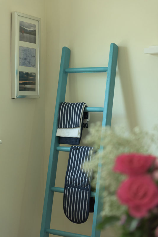 Decorative Timber Ladders used in interior design environments